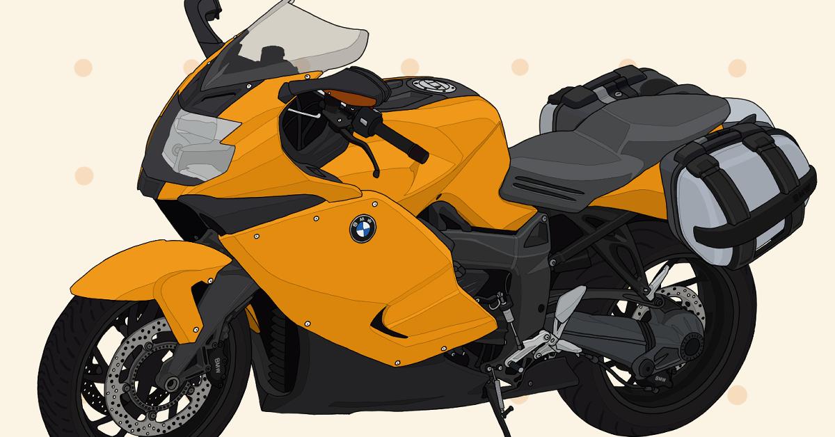 BMWmotorrad バイク メガスポーツ K1300S イエロー