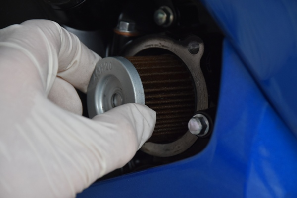 スズキ バイク 原付二種 GSX-R125 エンジン オイルフィルター